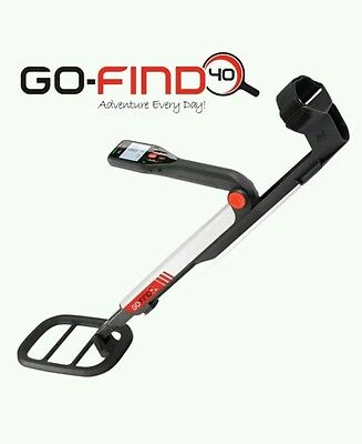 Minelab GO-FIND 40 Metal Detector COMES WITH 2 FREE BOOKS