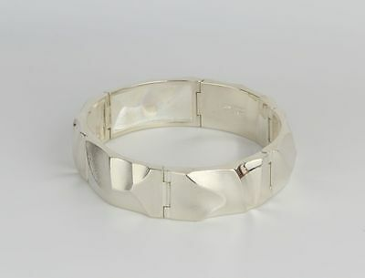 Sterling Silver 925S Bracelet / Bangle made in Finland by Lapponia