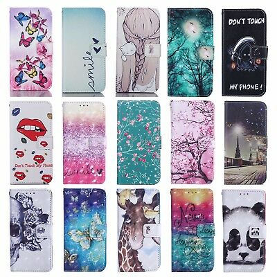FLIP WALLET MAGNETIC CASE STAND COVER FOR APPLE IPHONE XR XS Max X 8 7 5S 6 SE