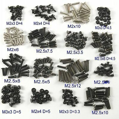 320pcs M2/M2.5/M3 Machine Screws Set for Laptop/Hard Disk/Keyboard/Phone/PC/DIY