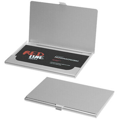 Business Card Holder Metal Aluminium Debit Card Display Case Pocket Wallet Gift