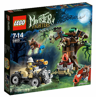 LEGO Monster Fighters Werwolfversteck 9463 NEU/OVP