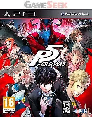Persona 5 - Playstation Ps3 Brand New Free Delivery