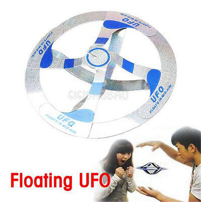 Amazing Mystery UFO Floating Flying Disk Saucer Magic Cool Trick Toy Gift New