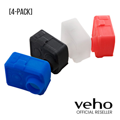 Brand New Veho Muvi K-Series Protective Silicone Case - 4 Pack Protects Camera