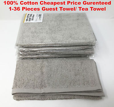 100% Cotton Tea Guest Towel Kitchen Dish Cleaning Cloth Super Absorbent Cheapest