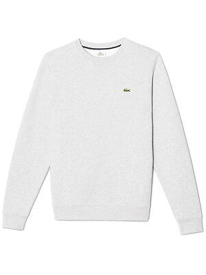Lacoste Sport Crew Neck Fleece - Silver Chine