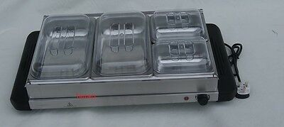 Ambiano 300w Buffet Server With 4 Trays and Adjustable Temperature