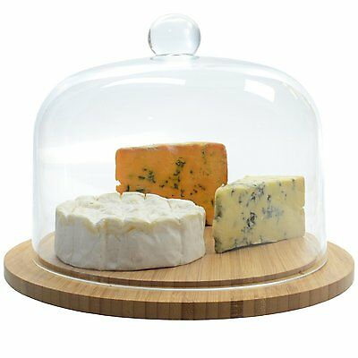 Occasion Rotating Glass Cheese or Cake Dome