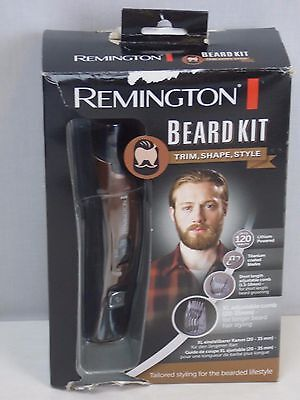 Remington MB4045 Beard Kit Beard Trimmer Boar Bristle Beard Comb & Scissors