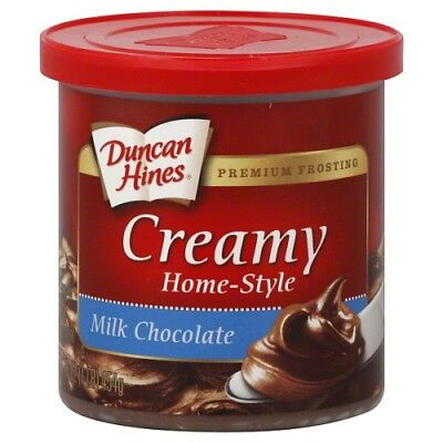 Duncan Hines Creamy Home-Style Frosting-Classic Chocolate 454g