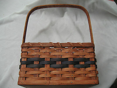 4 section organizer basket (Amish made in Ohio)