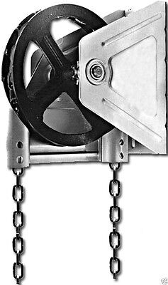 Garage Door Chain Hoist - Wall Mount