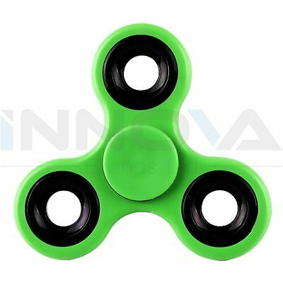 Fidget Spinner Toy Spinner Autism ADHD Funny Stress Relief Pocket Toy Green