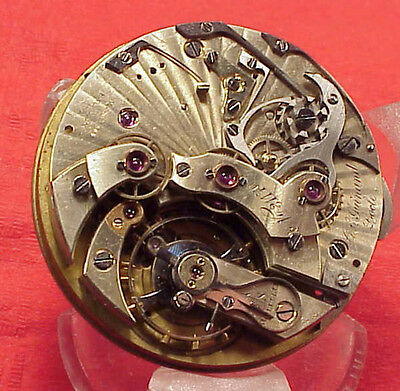 CL Guinand Locle Split Chronograph 30m Register Movement 45MM Pocket Watch