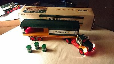 1976 Hess Toy Barrel Truck  w/Original Box