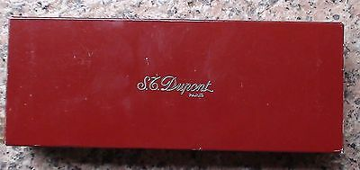 St Dupont Stylo Plume Ellipsis Gold Plated Fountain Pen 18K