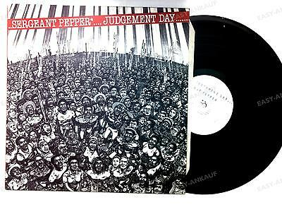 Sergeant Pepper - Judgement Day UK LP 1983 Rare Reggae Garnett Cross //1