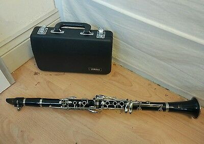 Yamaha 26ii Bb Clarinet with Hard Case with B40 Vandoren Paris Mouthpiece