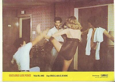7x Lobby Cards Bruce's Fists of Vengeance (1980) Bruce Le, Cack Lee, Eve Wong