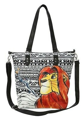 Disney The Lion King Tribal Double Buckle Bag Purse Tote Gift Super Rare NWT!