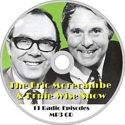 MORECAMBE & WISE The BBC Radio Shows AUDIO MP3 CD NEW comedy humour xmas gift