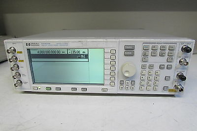 Agilent E4437B, ESG-DP 4GHz Series Signal Generator w/ 10 Options