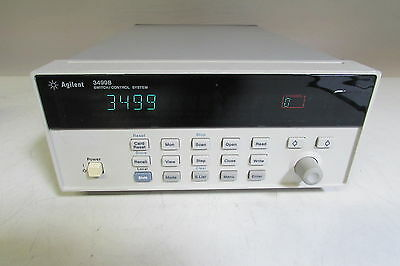 Agilent HP 3499B 2-Slot Switch/Control with two N2268A Switch modules