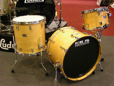 New Pork Pie Drum Set 13-16-22 bass drum