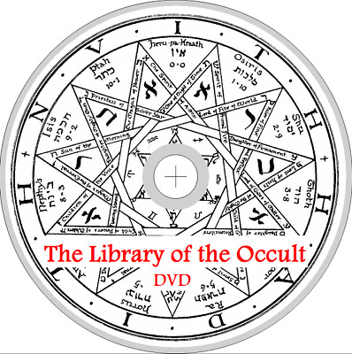 400 OCCULT Books WITCHCRAFT MAGIC ALCHEMY DEMONS TAROT SPIRITS SPELLS WICCA DVD
