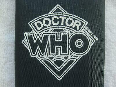 Doctor Who Wallet Vintage 1988 New NOS Trifold Tardis Blue