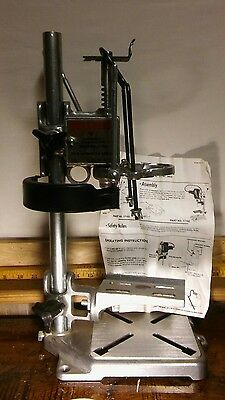 "Vermont American Drill Press 17192 for 1/4"" and 3/8"" Drills with Operating Instr"