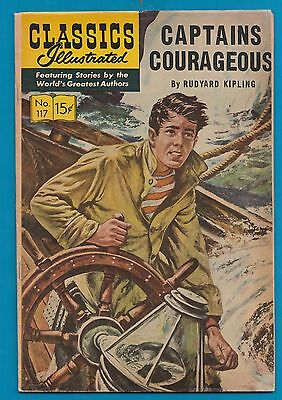 Classics Illustrated Comic 1967 Captain Courageous by Rudyard Kipling   #903