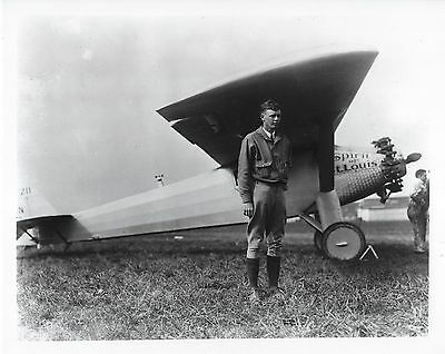 Charles Lindbergh #3 Photo 8X10-1929 Lucky Lindy Cockpit  Buy Any 2 Get 1 FREE