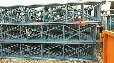 Structural-Pallet-Rack-Uprights-17' x-42' (QTY-50)