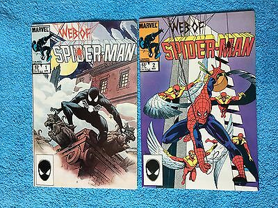 Web of Spider-Man #1 and #2 Lot of both 🔑