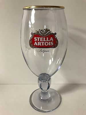 Stella Artois Acrylic / Plastic 33 cl Chalice Glass BELGIUM Beer One glass NEW
