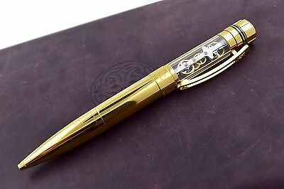 MINT TF Est 1968 T-Mechanic Yellow Gold Plated Watch Theme Ballpoint Pen PM-PY99