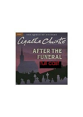 Audio book    Agatha Christies After the funeral audio book ( 2 cds ) full cast