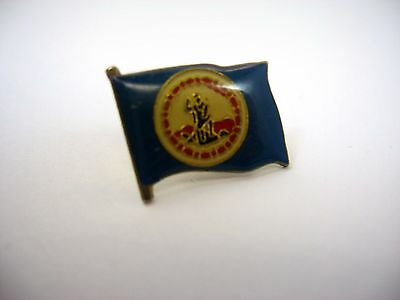 Vintage Collectible Pin: State Flag of Virginia