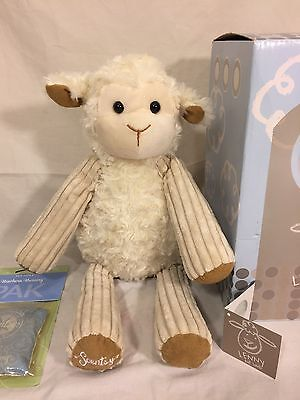 "SCENTSY BUDDY - LENNY the LAMB-14"" Plush Doll 2010 Edition RARE w/Scent PAK"