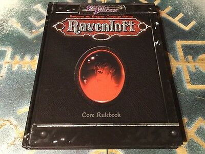Ravenloft Campaign Setting ~ Dungeons & Dragons 3/3.5 D20 ~ Sword & Sorcery