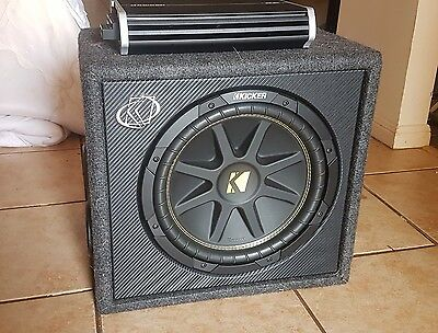 "Kicker 10VC124 12"" Car Subwoofer"