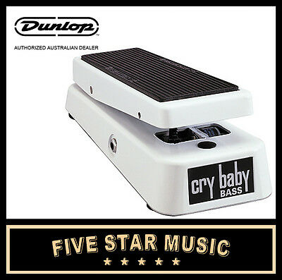 JIM DUNLOP BASS Q CRYBABY WAH PEDAL 105Q CRY BABY for BASS GUITAR - NEW