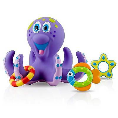 Nuby Baby / Child / Kids Purple Octopus Floating Bath Tub Play Toy