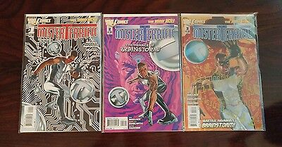 Mister Terrific DC New 52 #1 - 8  full run comic lot