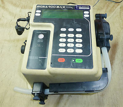 HACH SIGMA 900 MAX PORTABLE WATER SAMPLER WASTEWATER Tested