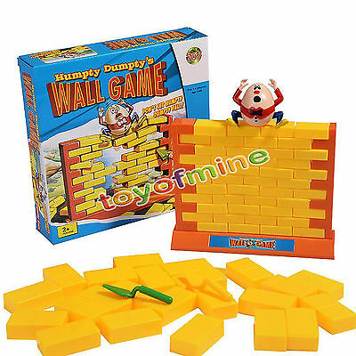 Humpty Dumpty Wall Game Remove The Bricks Don't Let Humpty Fall Children Toy