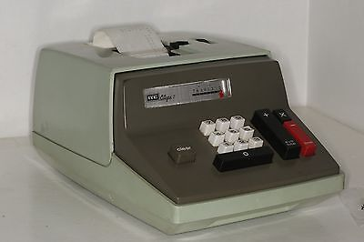 Vintage ITC CA-7, Electric Adding Machine - Citizen Business Machines