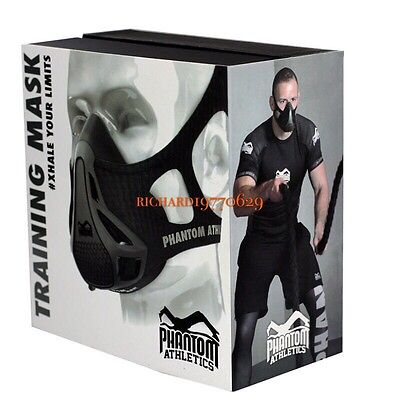 TRAINING MASK 2.0 HIGH ALTITUDE FIT EXERCISE  FITNESS FOR 70-120 KGs